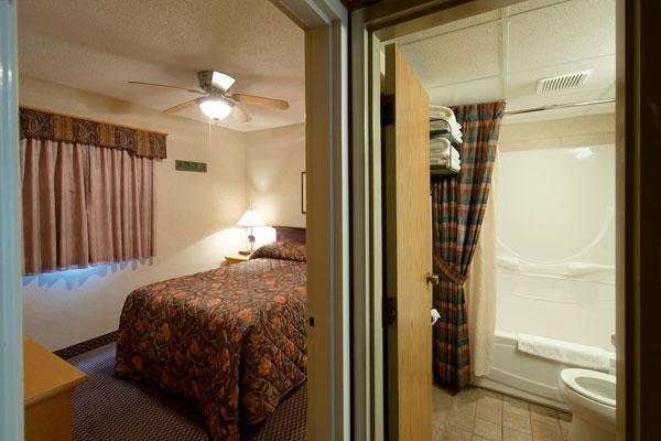 one bedroom loft condo douglas fir resort chalets banff canada